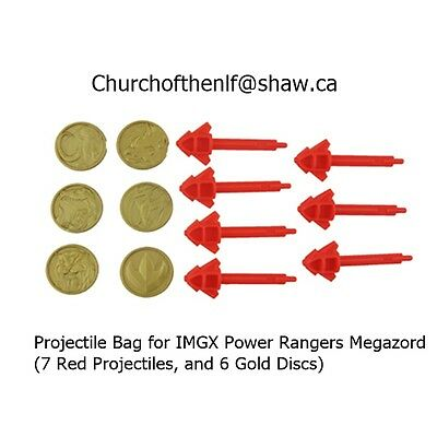 New Fisher Price Imaginext Power Rangers Morphing Megazord Projectile Set