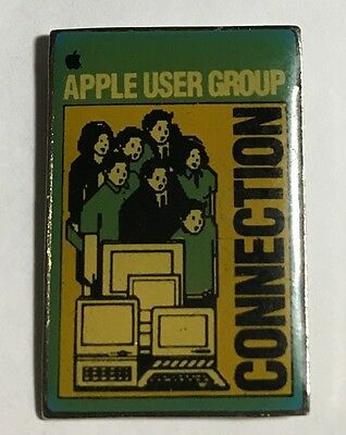 APPLE Computers User Group CONNECTION - HTF Collectible  Pin