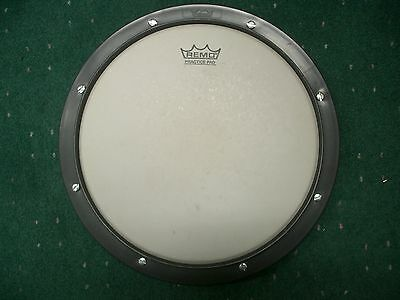 "REMO 10"" Practice Pad Drum with Vader 5A hand selected hickory sticks - Used"