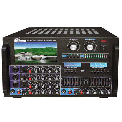 "IDOLMAIN IDOLPRO 8000W KARAOKE MIXING AMPLIFIER w/ 7"" LCD SCREEN"