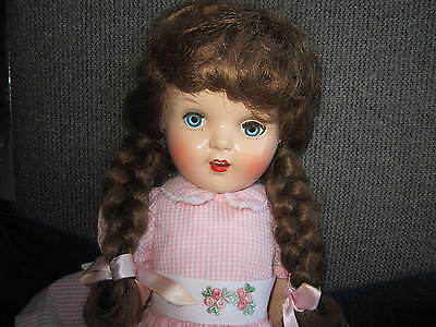 """19"""" reliable made in canada 1950s doll"""
