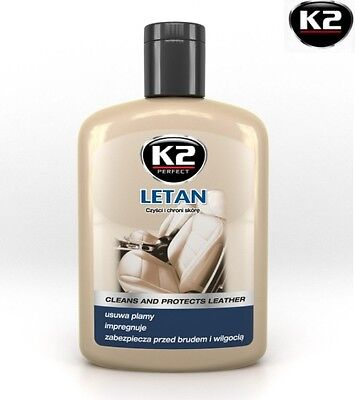 K2 Letan Cleaner Remowal Car Stain Protects Natutral Leather Impregnation