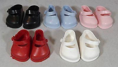 Pair Of Cinderella Doll Strap Shoes Size 03 - Various Colours *one Pair Only*