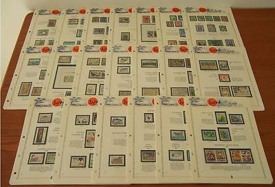 Japan Collection Japon Mnh ** 1966-1985 Full Years  White Ace Pages Black Mount