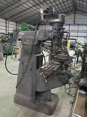 "9"" x 42"" Bridgeport Knee Type Vertical Mill - Series I"