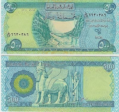 Iraq,  500 Dinars,  2003,  P 92,  Unc,  Banknote,  Middle East