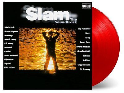 O.S.T. :  Slam -The Soundtrack- (Ltd. 180g Coloured Red Vinyl )  2 LP  NEU