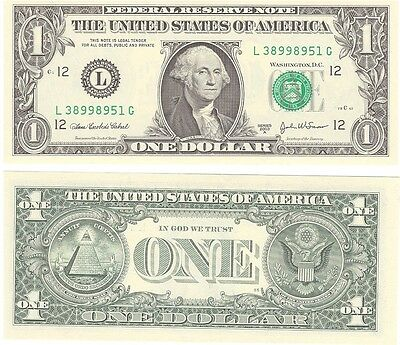 USA  $1.00 Dollar FRN  P-515, Banknote 2003  Unc