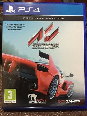 ASSETTO CORSA ps4 Play Station 4 Sony