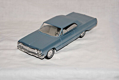 1964 Chevrolet Impala 2 dr HT 1/25 scale promo plastic by AMT from USA,