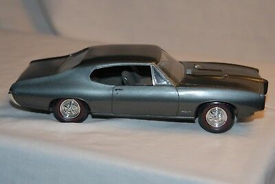 1968 Pontiac GTO 2 dr HT Promo 4/25 scale plastic by MPE from USA