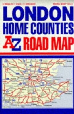 A-Z Road Map of Great Britain: Lond... by Geographers' A-Z Map Sheet map, folded