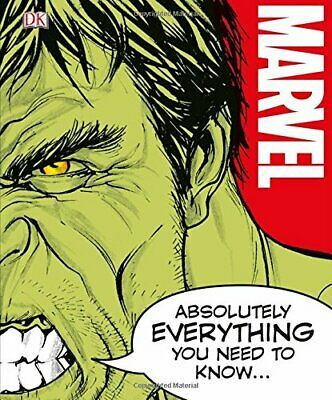 Marvel Absolutely Everything You Need To Know by DK Book The Cheap Fast Free