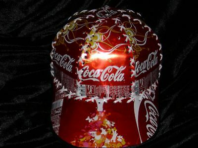 Ultra Rare - Vintage Coca Cola Hat made from cans