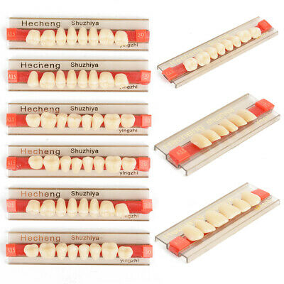 84pcs Acrylic Resin Denture Teeth VITA Color A3.5 Upper Lower Shade Dental New