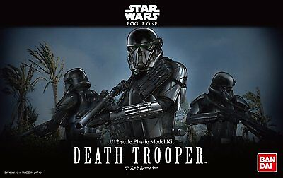 Star Wars Rogue One Death trooper 1/12 scale model kit Bandai