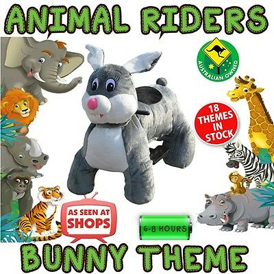 Bunny Rabbit - Animal Rider shopping centre ride business opportunity kids party
