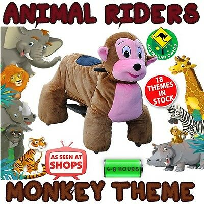 Monkey - Animal Rider shopping centre rides business events kids parties riders