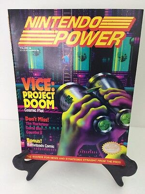 Nintendo Power Volume 24 Includes Disney's Tale Spin Poster