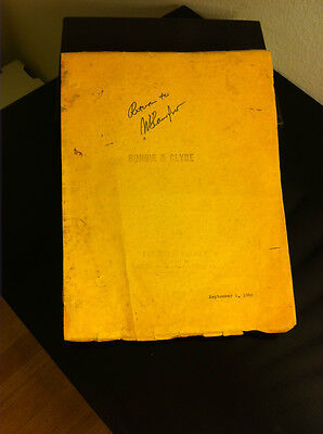 Bonnie and Clyde          Script
