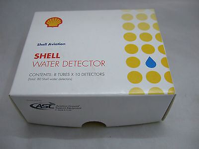 Shell Water Detector Capsules (8 Tubes x 10 Capsules)