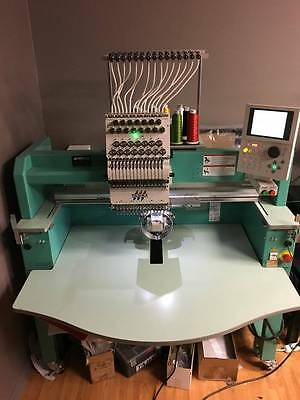 2014 Tajima Embroidery Machine TFMX-C1501 Single-Head 15 needles Commercial