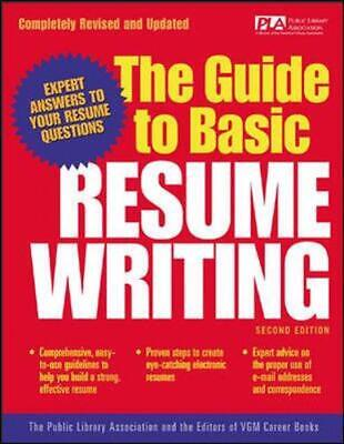 The Guide to Basic Resume Writing by The Editors of VGM Career Books Paperback B