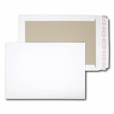 125 x C4 A4 board backed back envelopes PIP 324x229mm