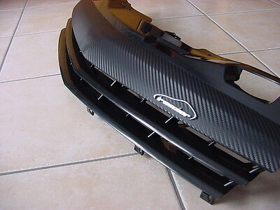 Opel Astra H GTC TwinTop Kühlergrill Sportgrill  Carbon Look