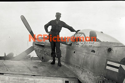 """1947 Paratroopers C-46 P-51 Japan 7 ea 4"""" x 6"""" Photos from mid-1940's Negatives"""