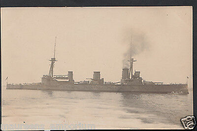 Military Shipping Postcard - Warship H.M.S Indefatigable    RT2304
