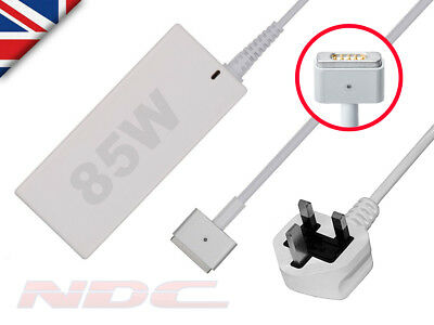 85W UK Power Supply Adapter/Charger for Apple Macbook Pro 15 Retina A1398 '12-15