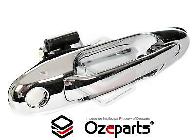 Toyota Landcruiser 100 Series 98~07 FRONT RH Right Hand Outer Door Handle Chrome