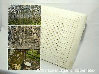 100% natural latex pillow 100% zip  cotton inner cover  60*40*12.5CM 1.3KG  SOFT