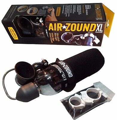 AirZound 3 / Airzound XL Rechargeable 115db Air Horn for Cyclists, Scooters, Etc