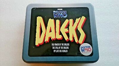 Doctor Who Power and Evil of the Daleks Limited  CD Tin Set
