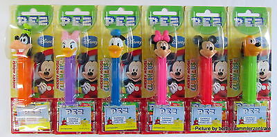 PEZ - CLUBHOUSE Disney set of 6 - Mint On Card 2017