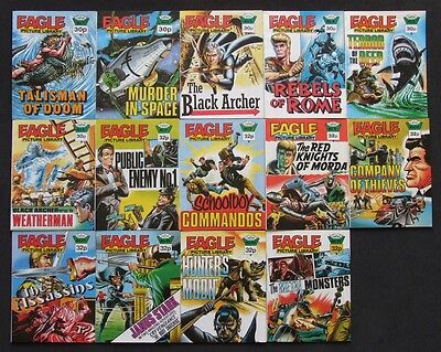 Eagle Picture Library Complete 1-14 Issue Comic Set (IPC, 1985) #9 Don Lawrence
