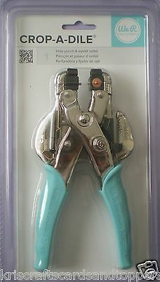 We R Keepers ~ CROP-A-DILE Hole Punch and Eyelet Setter ~ 70907-7  ~ FREE  P&P