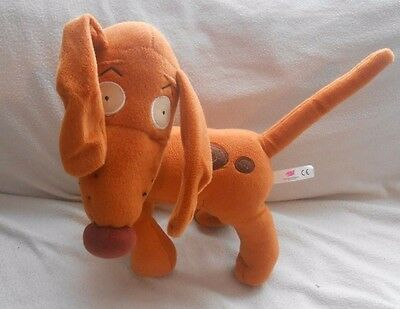"2001 - Rugrats - Spike The Dog - 14"" Plush Toy - Nickelodeon  (3)"