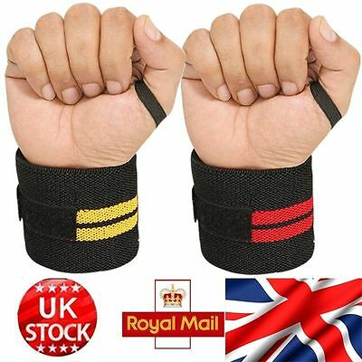 weight lifting wrist wraps bandage hand support gym straps