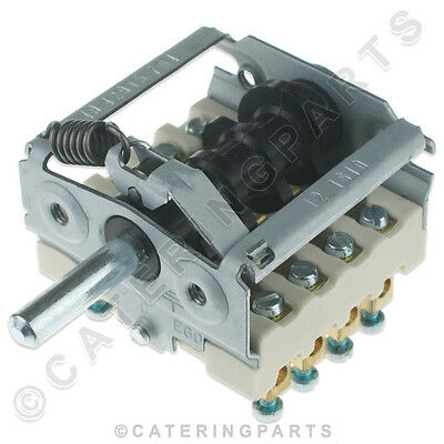 Ego 49.42915.704 Pizza Oven Grill Rotary Switch 8 Pin 250V 4No Fimar Co1943 Sw71