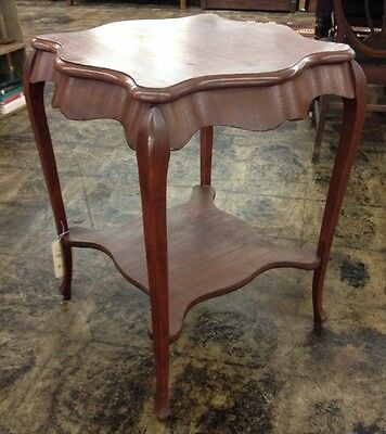 Antique 1800'S Mahogany Side/End Table Nice!