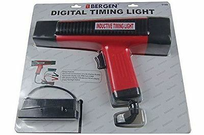 BERGEN XENON Inductive Digital Timing Light with LED Tacho Readout tool B3199