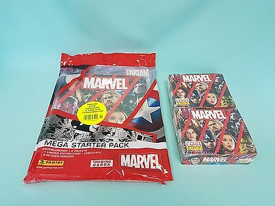 Panini Marvel Heroes 2017 Starterpack + 2 x Display / 48 Booster Trading Cards