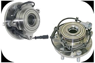 Land Rover Discovery 2 Front Wheel Bearing + Hub + ABS Sensor 1998-2004