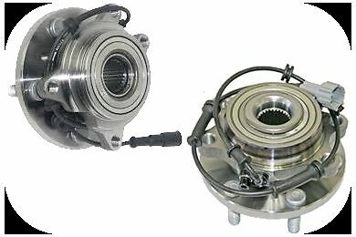 2 x Land Rover Discovery 2 Front Wheel Bearing + Hub + ABS Sensor *PAIR* 98-04