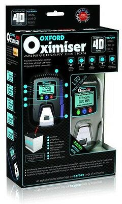 Oxford Oximiser 900 Anniversary Edition 12v Motorcycle Trickle Battery Charger