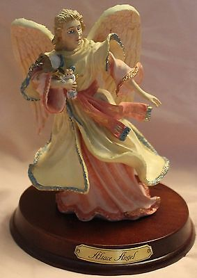 Duncan Royale  History of Santa Claus Alsace Angel  Limited Collectible figurine