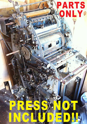 AB DICK 360 printing machine press PARTS
